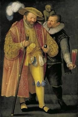Austria, Vienna, Portrait of Rudolph II of Habsburg