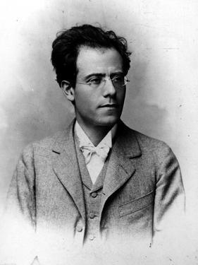 Austrian Composer Gustav Mahler, Copied from Original Carte De Visite, 1860-1911