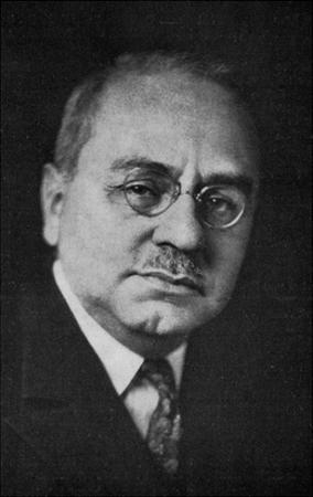 Alfred Adler (B/W Photo)