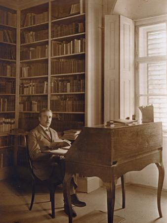 Portrait of Hugo Von Hofmannsthal