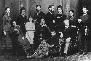 The Freud Family, C.1876 by Austrian Photographer