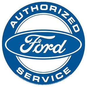 Authorized Ford Service Round