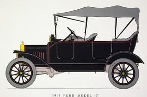 Auto: Model T Ford, 1915