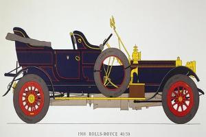 Auto: Rolls-Royce, 1908