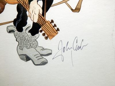 Autograph of Johnny Cash