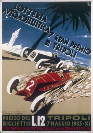 Automobile Lottery, Seventh Tripoli Grand Prix, May 7, 1933
