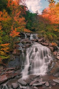 Autumn at Bastion Falls, New York