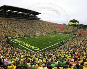 Autzen Stadium University of Oregon Ducks 2013
