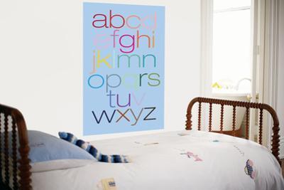 Blue Rainbow Alphabet by Avalisa