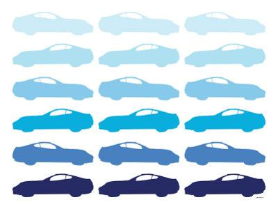 Blue Sportscar by Avalisa