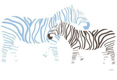 Blue Zebra by Avalisa