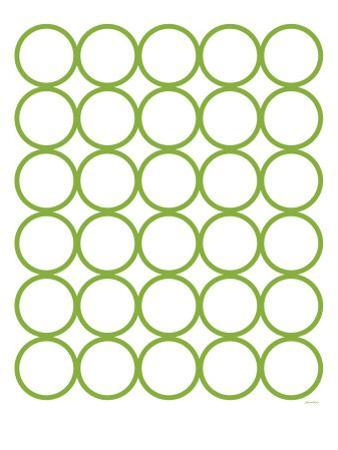 Green Circles by Avalisa