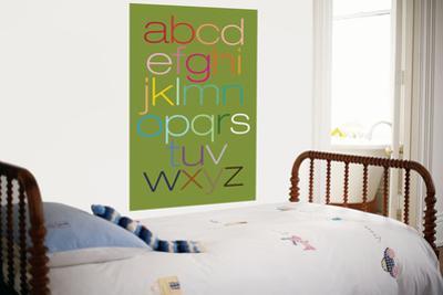Green Rainbow Alphabet by Avalisa
