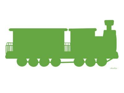 Green Train by Avalisa