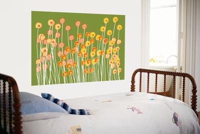 Green Wild Flowers by Avalisa