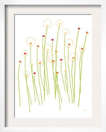 Orange Dandelion by Avalisa