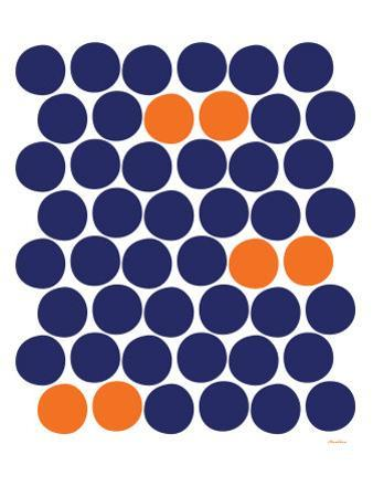 Orange Dots by Avalisa