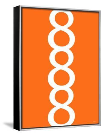 Orange Figure 8 Design by Avalisa