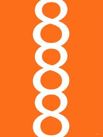Orange Figure 8 Design by Avalisa