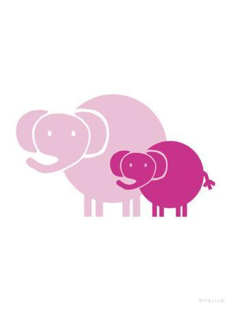 Pink Baby Elephant by Avalisa