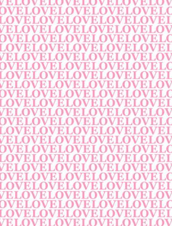 Pink Love Love Love by Avalisa