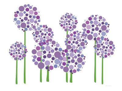 Purple Allium by Avalisa