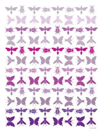 Purple Insects by Avalisa