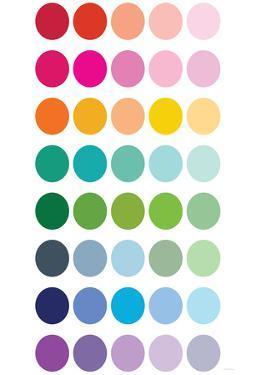 Rainbow Dots by Avalisa