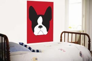 Red Boston Terrier by Avalisa