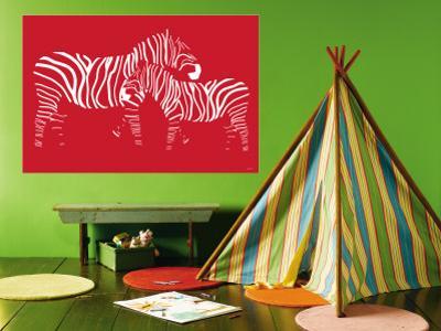 Red Zebra by Avalisa