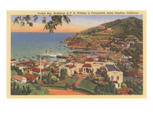 Avalon Bay, P.K. Wrigley Home, Santa Catalina