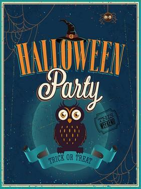 Halloween Party Poster by avean