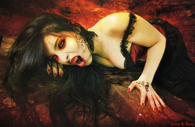Avelina De Moray (Vampires of Rookwood) Art Poster Print