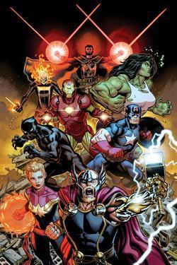 Avengers #1 - Group Shot