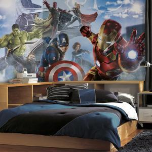 Avengers: Age of Ultron Character XL Chair Rail Prepasted Mural