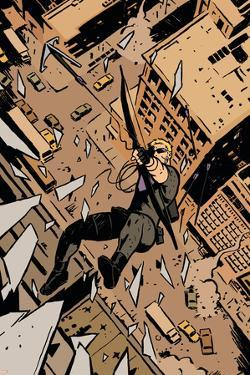 Avengers Assemble Artwork Featuring Hawkeye