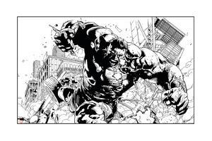 Avengers Assemble Artwork Featuring Hulk