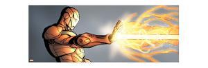 Avengers Assemble Artwork Featuring Iron Man