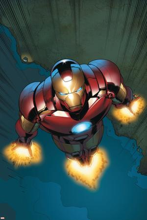Avengers Assemble Panel Featuring Iron Man