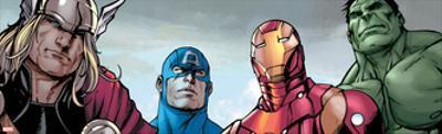 Avengers Assemble Style Guide: Thor, Captain America, Iron Man, Hulk