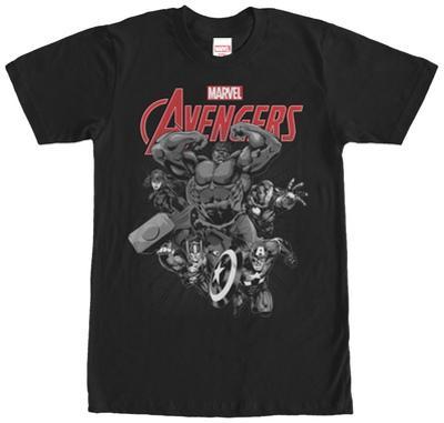 Avengers- Black & White Rush