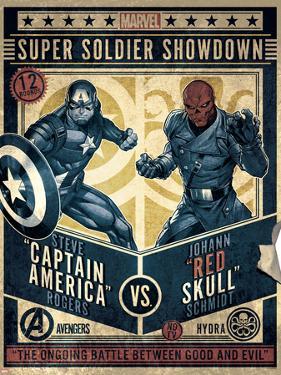 Avengers - Captain America vs. Red Skull