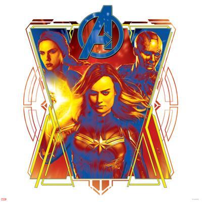 Avengers: Endgame - Black Widow, Nebula, and Captain Marvel