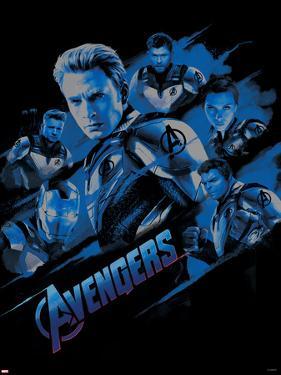 Avengers: Endgame - Blue Rush