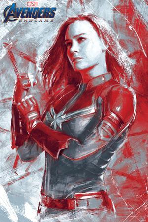Avengers: Endgame - Captain Marvel Painterly