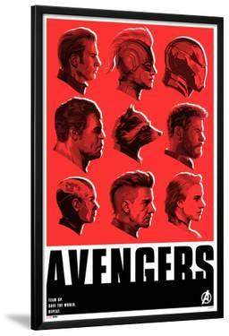 Avengers: Endgame - Character Profiles (Red)