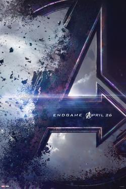 Avengers: Endgame - Logo Dust