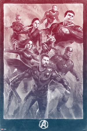 Avengers: Endgame - Mixed Media