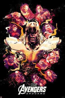 Avengers: Endgame - Paint Splatter