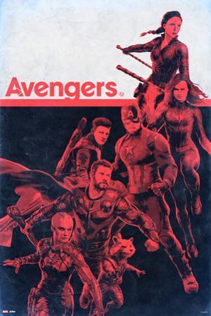 Avengers: Endgame - Red Figures